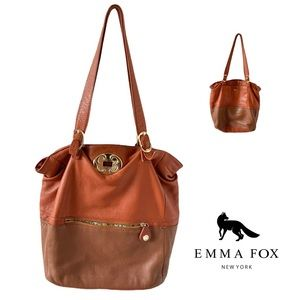Emma Fox leather Tote